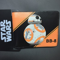 BB-8 Star Wars Bi-Fold Short Wallet With Card Holder