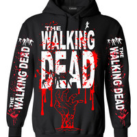 WALKING DEAD Pull Over Hoodie # 2102