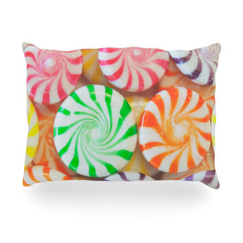 "Libertad Leal ""I Want Candy"" Oblong Pillow"