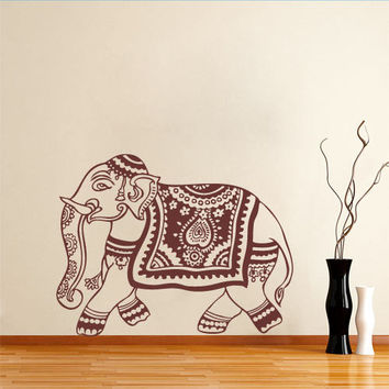 Oriental Elephant wall decal for housewares