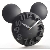 Mickey Mouse Acrylic Electronic Wall Clock