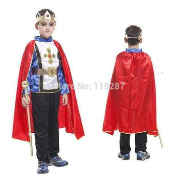 PEAPON Shanghai Story Retail 4 size new boys halloween arab king cosplay costumes Prince suit for kids full children's costume