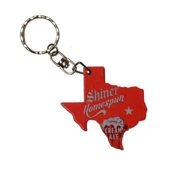 Shiner Texas Keychain