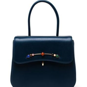 PRAMMA | N9 Calfskin Handbag | brownsfashion.com | The Finest Edit of Luxury Fashion | Clothes, Shoes, Bags and Accessories for Men & Women