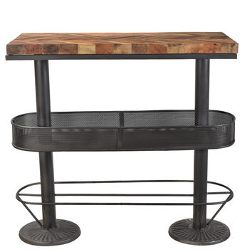Morrissey Industrial Bar Table