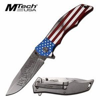 We the people American Flag Knife