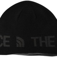The North Face Unisex Reversible TNF Black Beanie Hat OS
