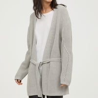 H&M Cardigan with Tie Belt $34.99