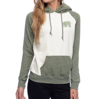 Lovely The elephant Fashion  hooded sweater