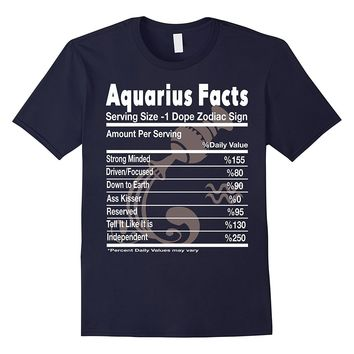 Aquarius Facts - Aquarius Funny T Shirt