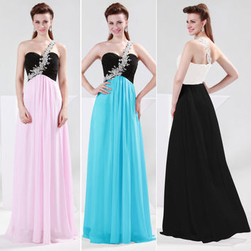 Luxury New Sexy Women Formal Prom Party Ball Gown Long Bridesmaid Evening Dress