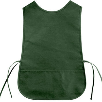 christine c2 cotton twill cobbler apron [forest] Case of 72