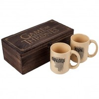 Game of Thrones Collectible Khal & Khaleesi Mug Set