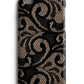 Black Lace iPhone 8 Case iPhone 8 Plus Case iPhone