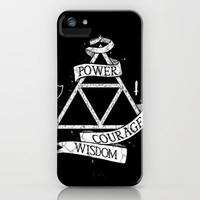 The Legend of Zelda - Triforce iPhone & iPod Case by Bruce Wayne
