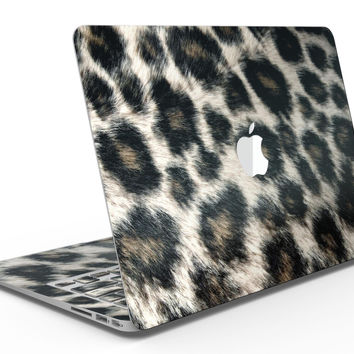 Light Leopard Fur - MacBook Air Skin Kit