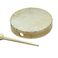 World Percussion Hand Drum with Mallet
