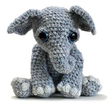 Buy Tilly the Elephant amigurumi pattern - AmigurumiPatterns.net