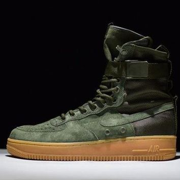 ONETOW Jacklish Nike Special Field Air Force 1 Sf-af1 High Tops Faded Olive Cheap Sale Online