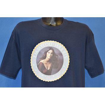 70s Emmylou Harris Profile Cover Country Music t-shirt Large