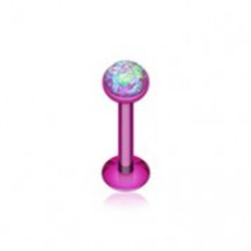 Colorline Opal Glitter Shower Dome Steel Labret