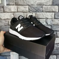 """New Balance 247"" Unisex Casual Fashion N Words Sneakers Couple Running Shoes"
