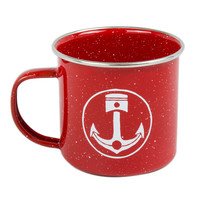 Iron & Resin Camp Mug