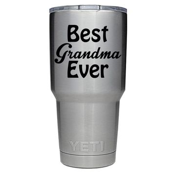 YETI 30 oz Best Grandmother Ever Tumbler