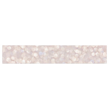 "Debbra Obertanec ""Magical"" Pink Glitter Table Runner"