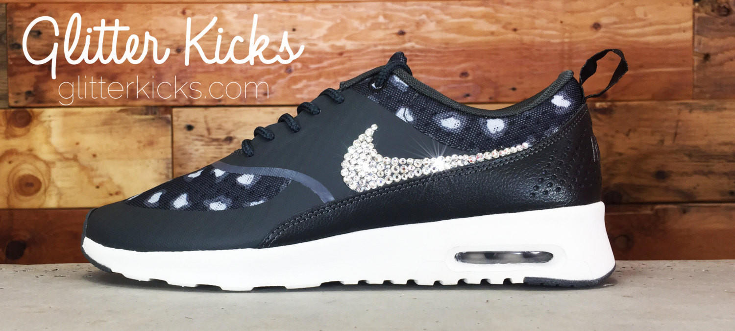 factory authentic f81ee 7201f Nike Air Max Thea - Crystallized Swarovski Swoosh