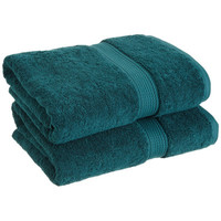 Three Posts Spring Grove 900 GSM Premium Long-Staple Combed Cotton Towel Set (Set of 2) (Set of 2)