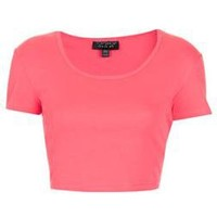 Basic Crop Tee - Topshop USA