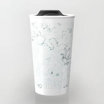 Marble Elegance Travel Mug by cadinera