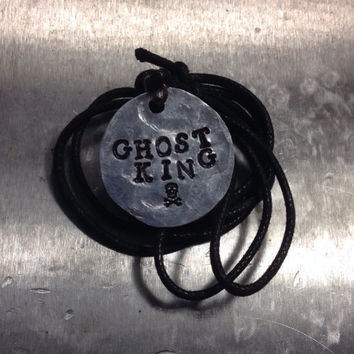 "Percy Jackson Inspired ""Ghost King"" Necklace"