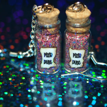 Pixie Dust Magical Bottles Earrings Tinker by LifeistheBubbles