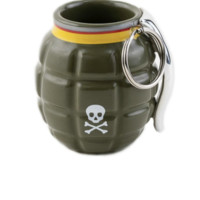 Grenade Shot Glass