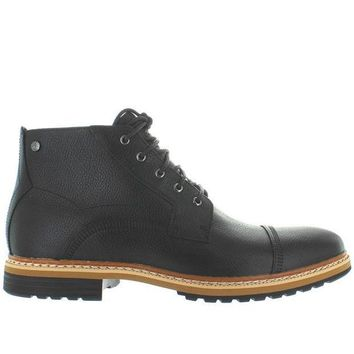 ESBONIG Timberland Earthkeepers West Haven Cap Toe - Waterproof Black Leather Chukka Boot