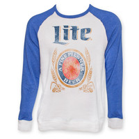 Miller Lite Two-Tone Crew Neck | WearYourBeer.com