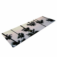 "Richard Casillas ""Paradise Palms "" Blue Pink Yoga Mat"