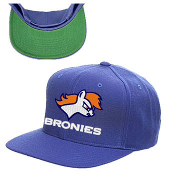 my little pony bromy little pont broncos snapback hat