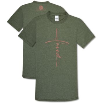 Southern Couture Soft Collection Vertical Loved T-Shirt