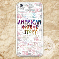American Horror Story Quotes galaxy iPhone 4/4S, 5/5S, 5C Series, Samsung Galaxy S3, Samsung Galaxy S4, Samsung Galaxy S5 - Hard Plastic, Rubber Case