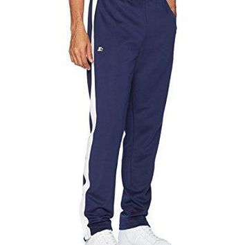 Starter Men's Loose-Fit Track Pants, Prime Exclusive, Team Navy, Medium