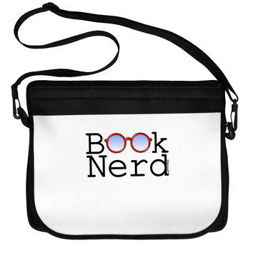 Book Nerd Neoprene Laptop Shoulder Bag