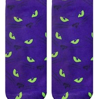 Cat Eyes Ankle Socks