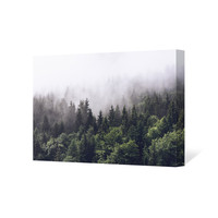 Misty Forest Art Canvas