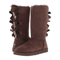 UGG Bailey Bow Tall Boot - Zappos Exclusive Chocolate - Zappos.com Free Shipping BOTH Ways
