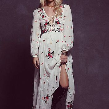 Free People Womens Winter Wanderer Dress