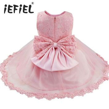 Hot sale 2018 Summer Girls Wedding&Birthday Party One-Piece Dresses Princess Children Clothes For Kids Baby Clothing Girl Dress
