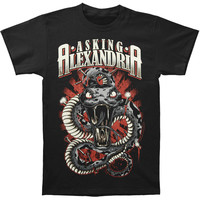 Asking Alexandria Men's  Poison T-shirt Black